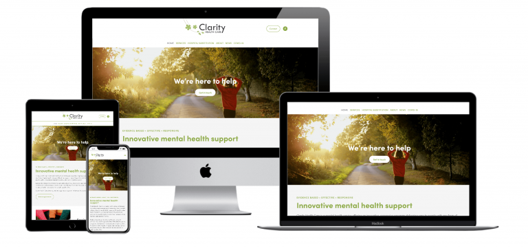 Clarity Healthcare - Responsive Design